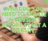 What do you need to create a website? Before Start A Website